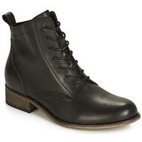 Schuhe Damen Boots André GODILLOT Schwarz