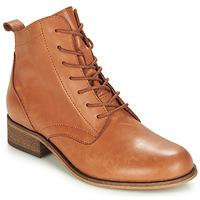 Schuhe Damen Boots André GODILLOT Camel
