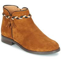 Schuhe Damen Boots André RAVIE Camel