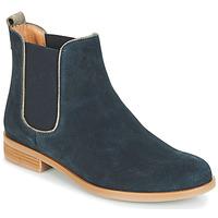 Schuhe Damen Boots André RIDER Blau