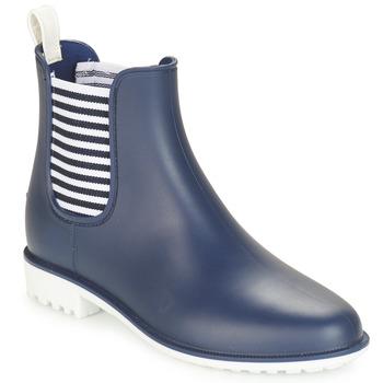 Schuhe Damen Gummistiefel André SKIPPER Blau
