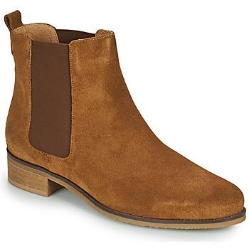 Schuhe Damen Boots André CHATELAIN Beige