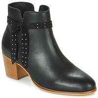 Schuhe Damen Low Boots André ROMANE Schwarz