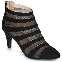 Schuhe Damen Low Boots André CORALINE Schwarz