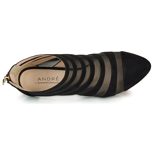 André CORALINE Schwarz Schwarz Schwarz  Schuhe Low Stiefel Damen 49b616