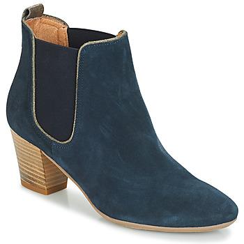 Schuhe Damen Low Boots André RELEASE Blau