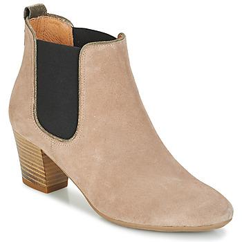 Schuhe Damen Low Boots André RELEASE Beige