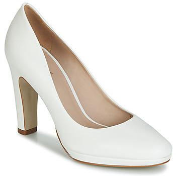 Schuhe Damen Pumps André CALI Weiss