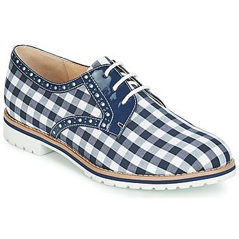 Schuhe Damen Derby-Schuhe André DERIVEUR Blau