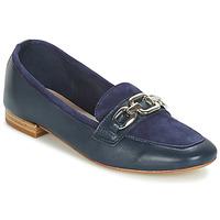 Schuhe Damen Slipper André CRIOLLO Blau