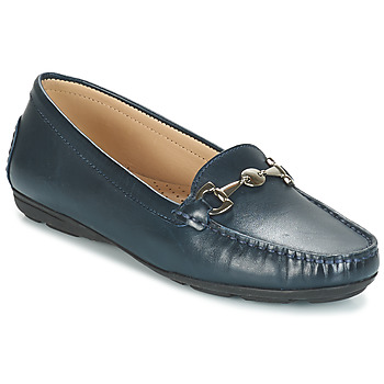 Schuhe Damen Slipper André CABRIOLE Blau