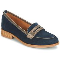 Schuhe Damen Slipper André ROAD Blau