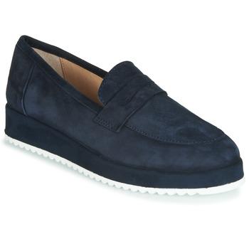 Schuhe Damen Slipper André CLICK Marine