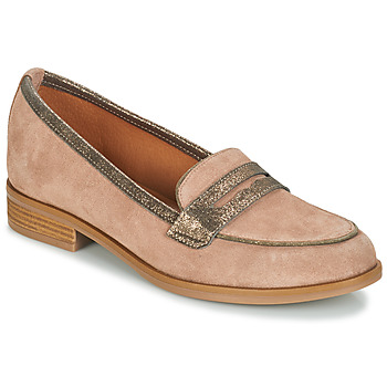 Schuhe Damen Slipper André ROAD Beige