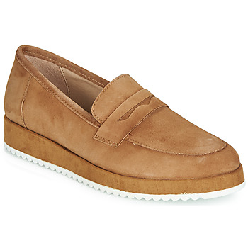 Schuhe Damen Slipper André CLICK Camel