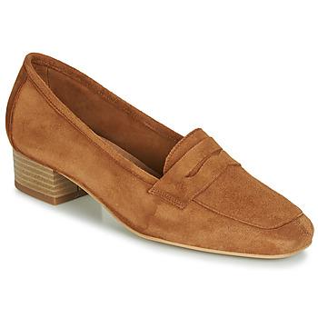 Schuhe Damen Slipper André SENLIS Camel