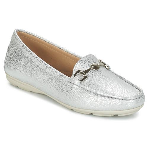 André CABRIOLE Silbern  Schuhe Slipper Damen
