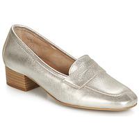 Schuhe Damen Slipper André SENLIS Silbern