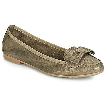 Schuhe Damen Slipper André CELIA Kaki