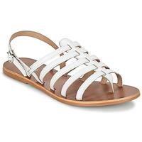 Schuhe Damen Sandalen / Sandaletten André ROSIANE Weiss