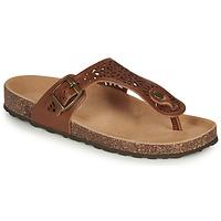 Schuhe Damen Sandalen / Sandaletten André RILA Camel