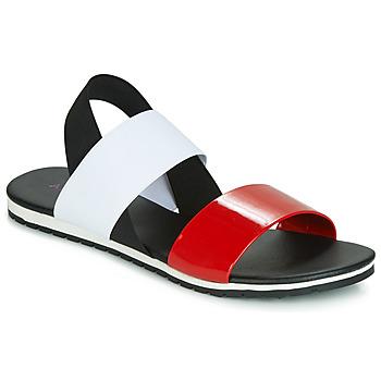 Schuhe Damen Sandalen / Sandaletten André SATANAS Rot
