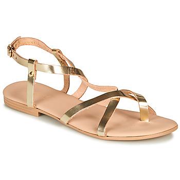 Schuhe Damen Sandalen / Sandaletten André RAFFOLE Gold