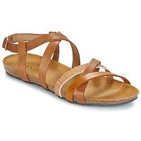 Schuhe Damen Sandalen / Sandaletten André ATTLAS Braun