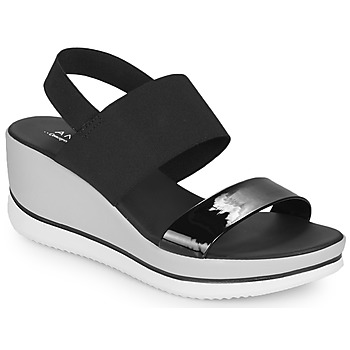 Schuhe Damen Sandalen / Sandaletten André SAURENZA Schwarz