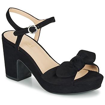 Schuhe Damen Sandalen / Sandaletten André SPRING Schwarz