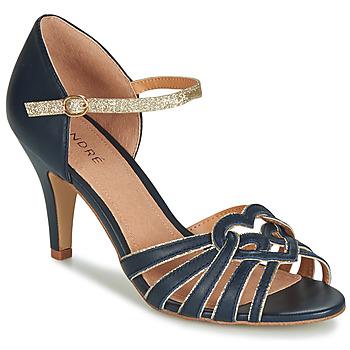 Schuhe Damen Sandalen / Sandaletten André CAGLIARI Marine