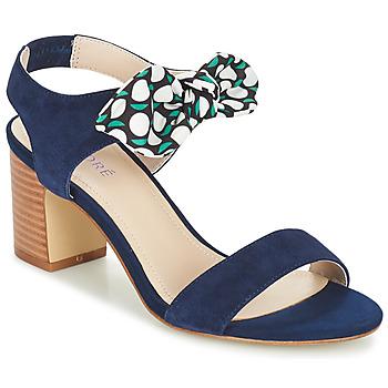 Schuhe Damen Sandalen / Sandaletten André SUPENS Blau