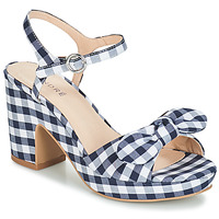 Schuhe Damen Sandalen / Sandaletten André SPRING Blau