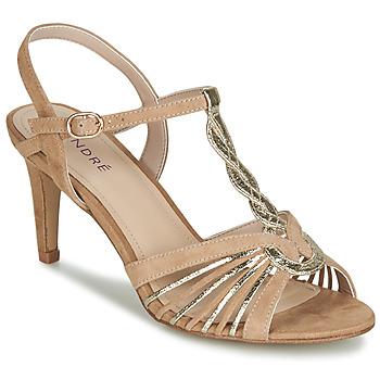 Schuhe Damen Sandalen / Sandaletten André CALECHE Beige