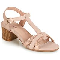 Schuhe Damen Sandalen / Sandaletten André CAROLA Rose