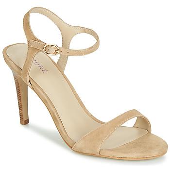 Schuhe Damen Sandalen / Sandaletten André SAXO Beige