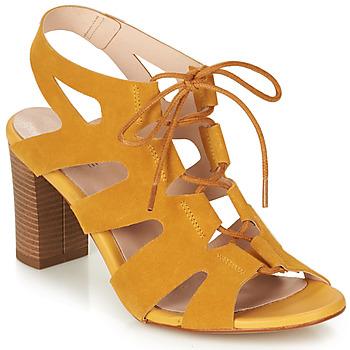 Schuhe Damen Sandalen / Sandaletten André ROMANESQUE Gelb