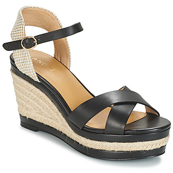 Schuhe Damen Sandalen / Sandaletten André SAND Schwarz