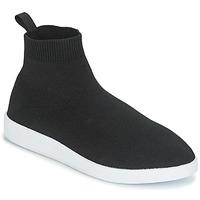 Schuhe Damen Sneaker High André ATINA Schwarz