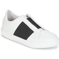 Schuhe Damen Sneaker Low André AEROBIE Weiss