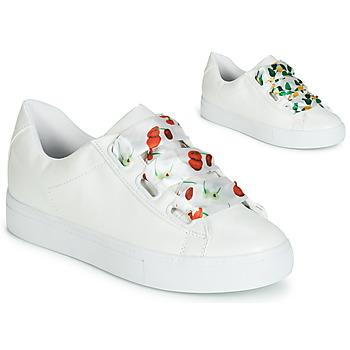 Schuhe Damen Sneaker Low André SOLANGE Weiss