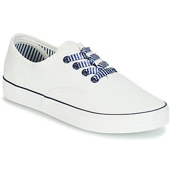 Schuhe Damen Sneaker Low André STEAMER Weiss