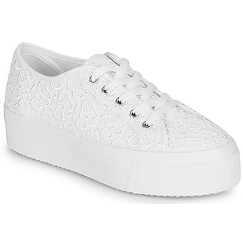 Schuhe Damen Sneaker Low André SODA Weiss