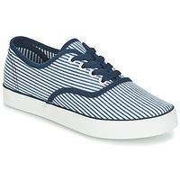 Schuhe Damen Sneaker Low André STEAMER Blau / Weiss