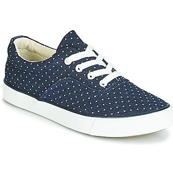 Schuhe Damen Sneaker Low André SOLENNE Blau