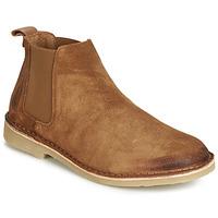 Schuhe Herren Boots André RONNY Cognac