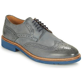 Schuhe Herren Derby-Schuhe André FLOWER Grau / Blau