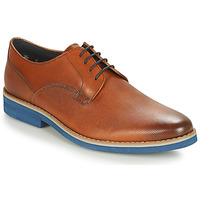 Schuhe Herren Derby-Schuhe André CANOE Cognac / Blau