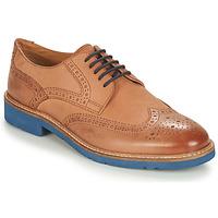 Schuhe Herren Derby-Schuhe André FLOWER Braun / Blau