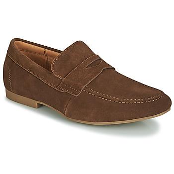 Schuhe Herren Slipper André TONI Braun